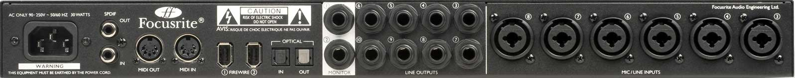 20 x 20 Firewire Audio Interface