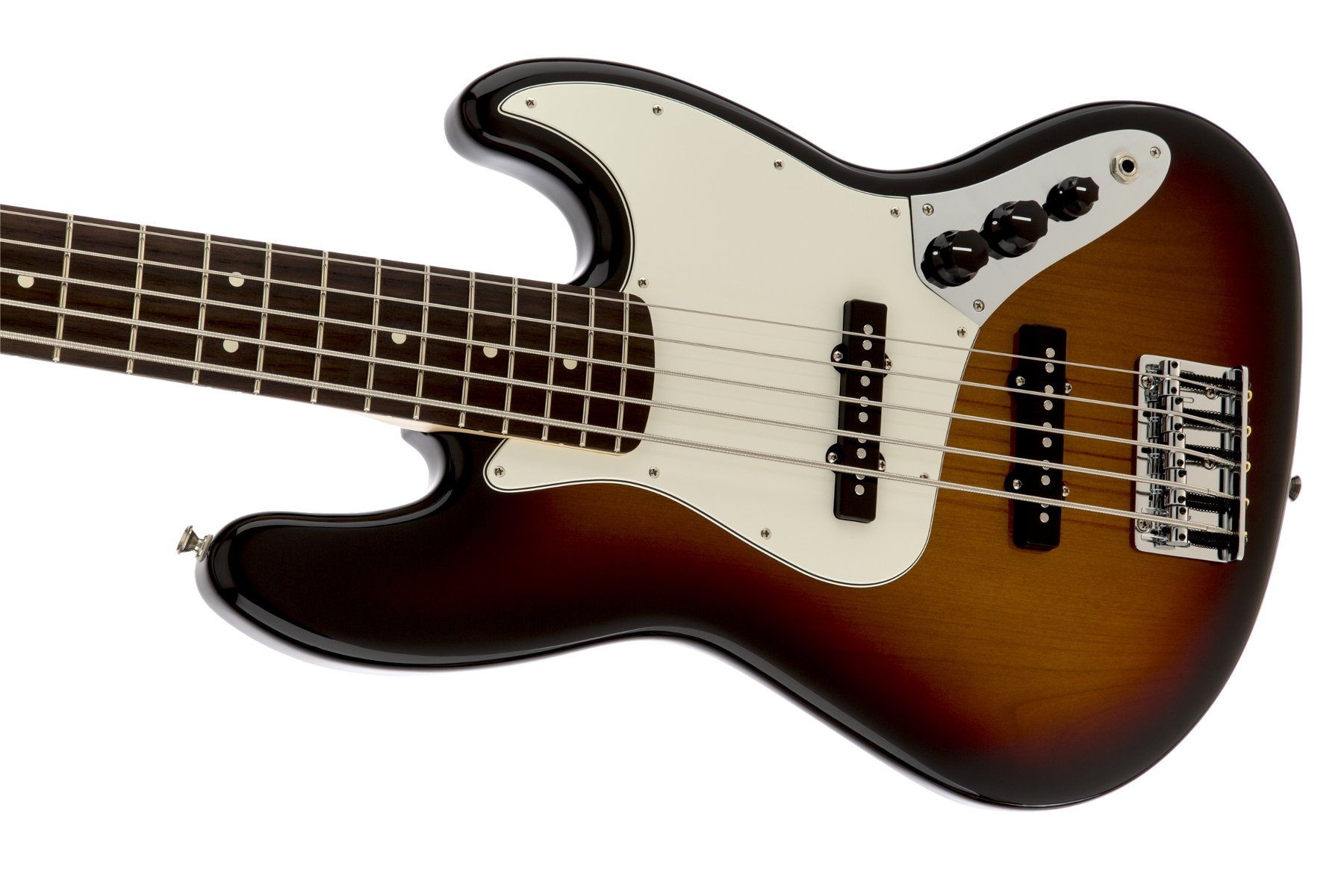 5-String Bass with Brown Sunburst Finish