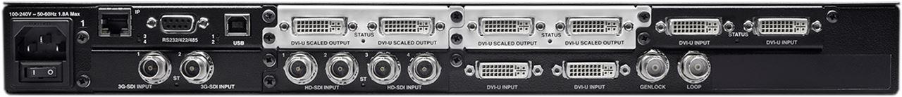 CORIOmaster mini Video Wall Processor with Modular I/O
