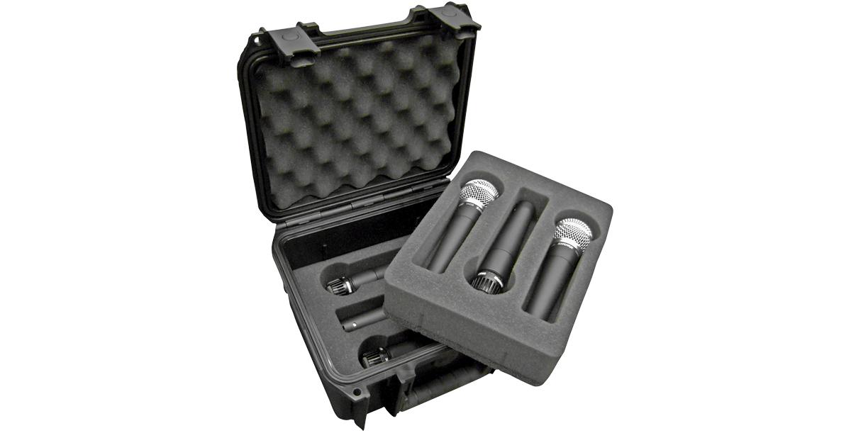 Waterproof Six Microphone Case