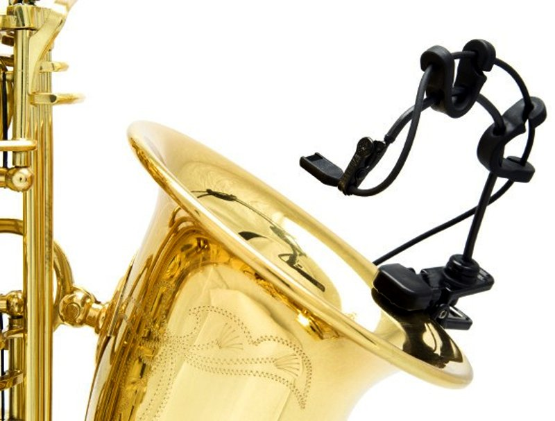Instrument Microphone Mount for Saxophones, Horns, Drums