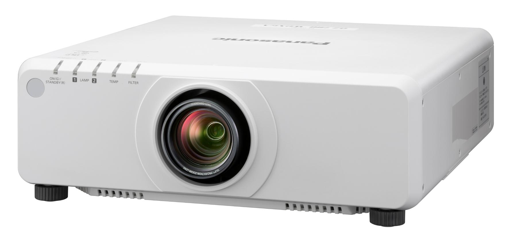 8200 Lumen WXGA 1-Chip DLP Projector with Standard Lens & DIGITAL LINK in White