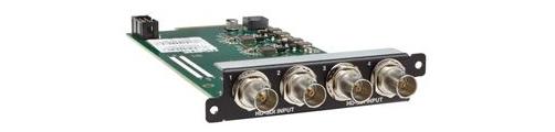 CORIOmaster/mini Input Module - 4x HD/SD-SDI via BNC