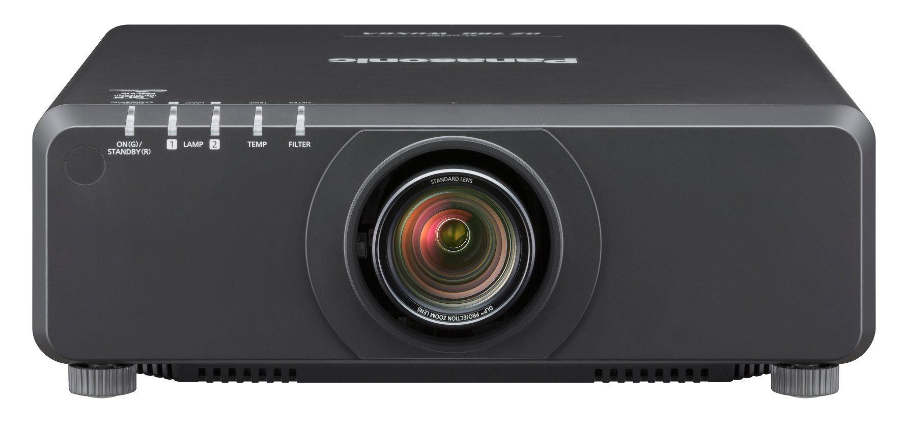 8200 Lumen WXGA 1-Chip DLP Projector in Black Without Lens