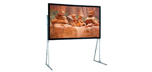 "Draper Shade and Screen 241102  Screen, Ultimate Folding Screen 133"", HDTV  241102"