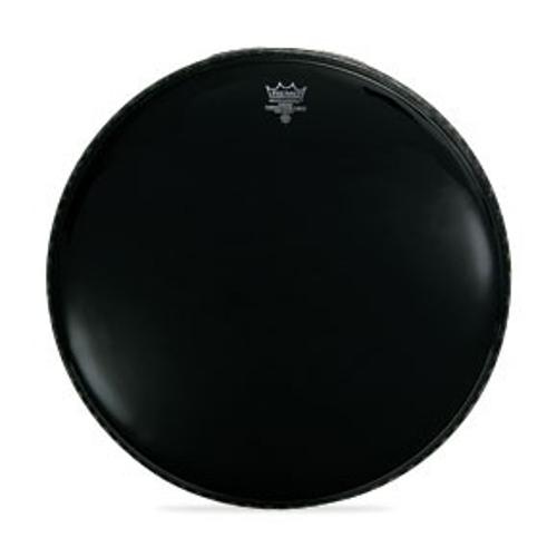 """24"""" Ebony Black Dynamo Bass Drum Head"""