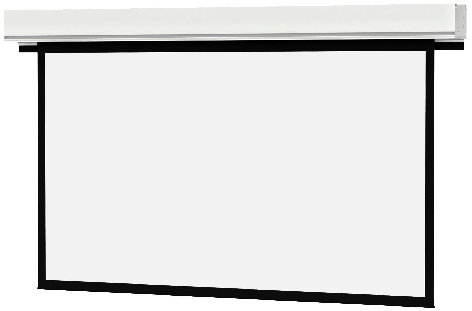 """Advantage Deluxe Electrol 50"""" x 67"""" Projection Screen with Matte White Screen Surface"""