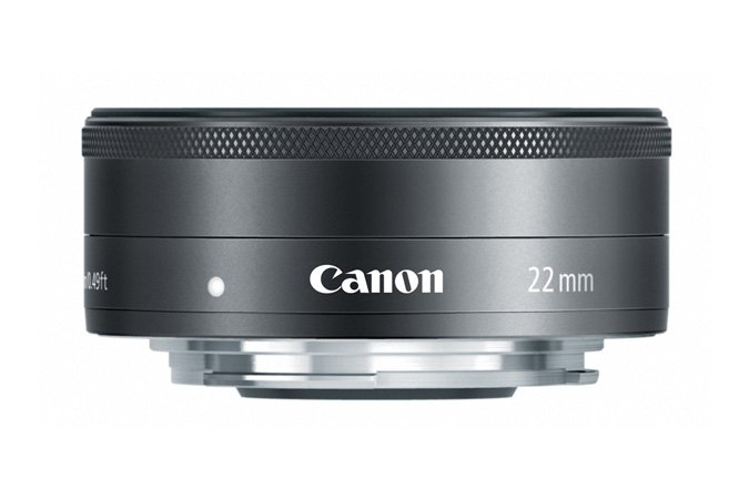 Canon 5985B002 EF-M 22mm F2 STM Lens in Black 5985B002