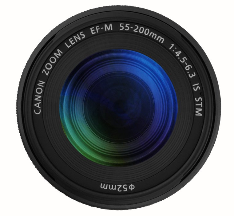EF-M 55-200mm f/4.5-6.3 IS STM EOS M Telephoto Zoom Lens