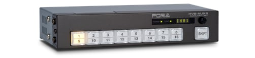 8 x 1 Auxiliary Remote Control Panel