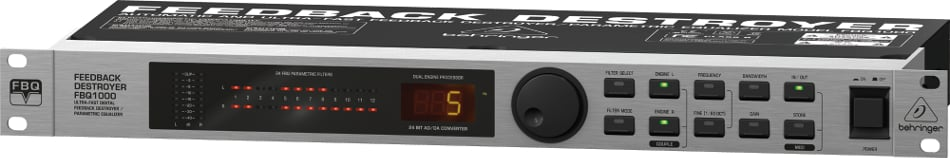 2-Channel Feedback Destroyer with Built-In EQ