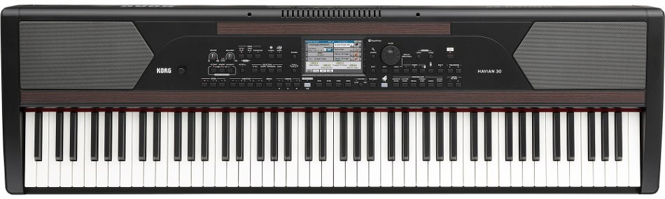 "88-Key Digital Piano Workstation with Weighted Hammer Action Keys and 5"" Touchscreen"