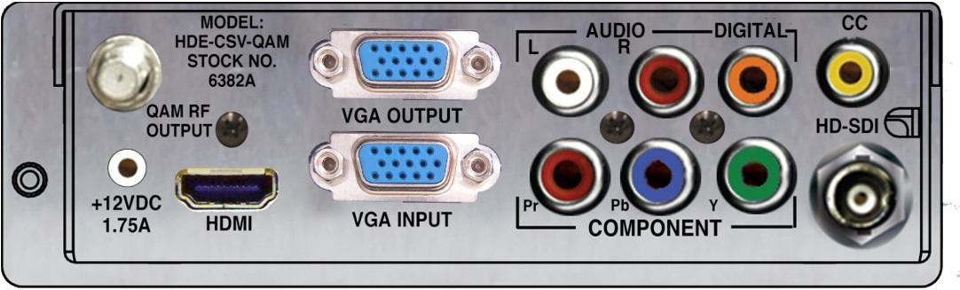 Component / VGA MPEG2 Encoder Module