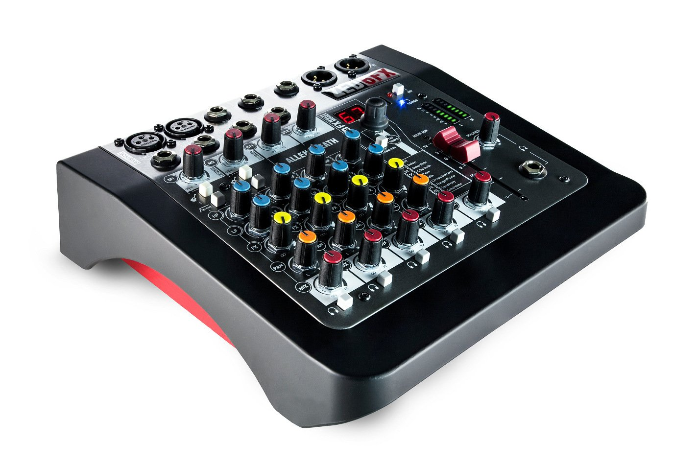allen heath zed 6fx 6 channel analog mixer with effects instrument inputs full compass systems. Black Bedroom Furniture Sets. Home Design Ideas