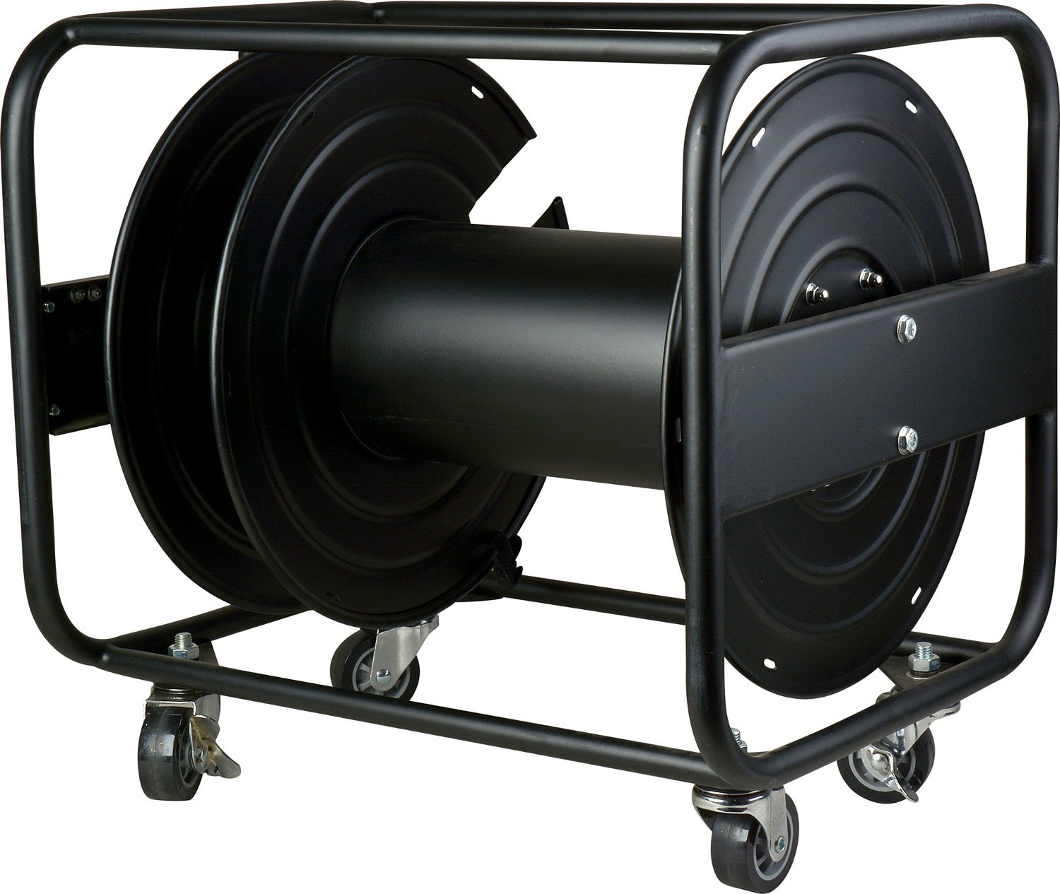 High-Capacity Cable Reel for Broadcast and Fiber Optic Cable