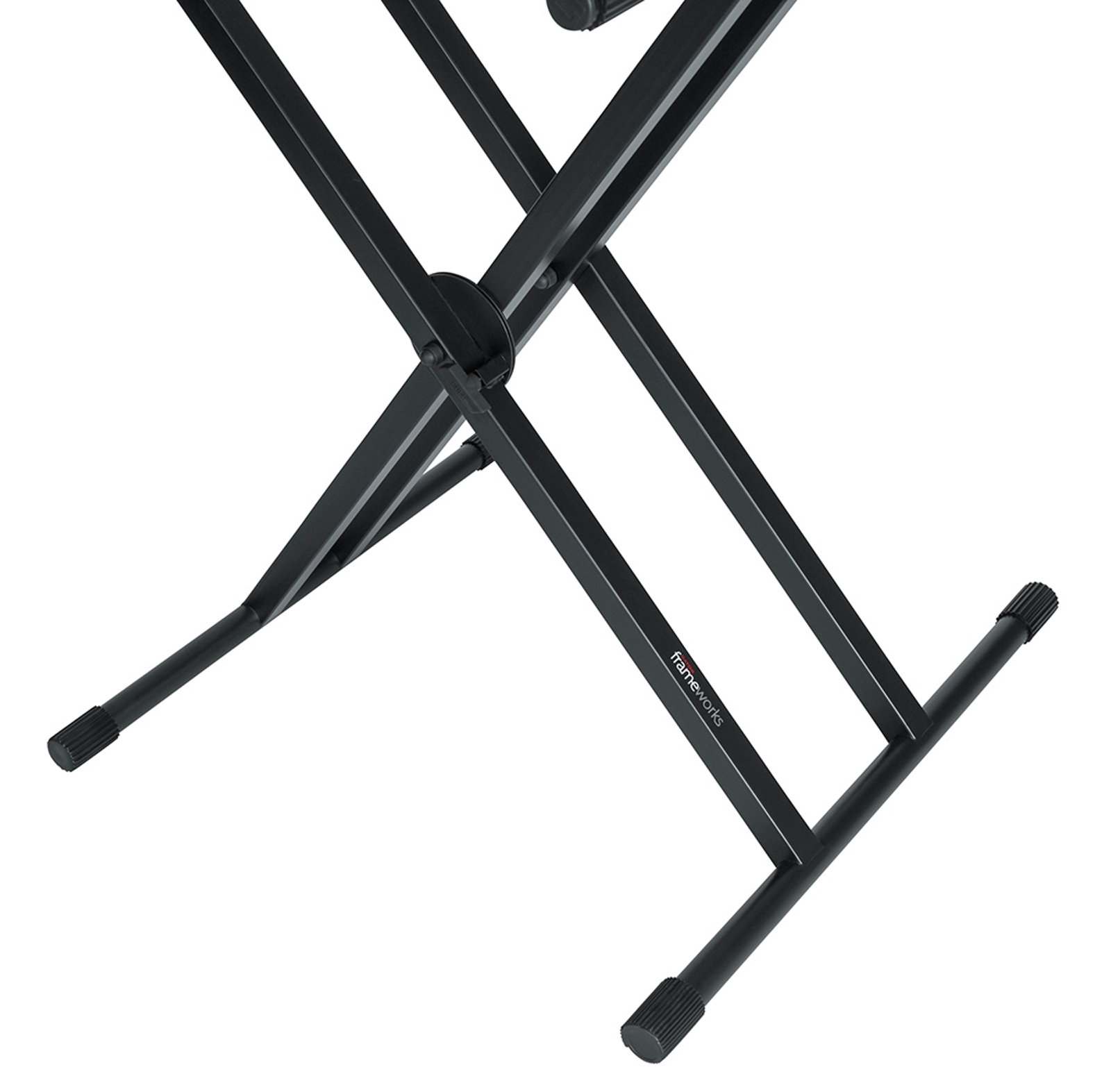 Two Tier X Style Keyboard Stand