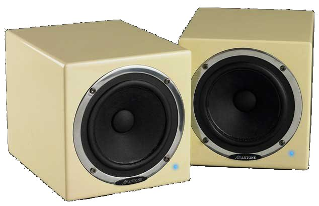 Pair of Shielded 60W RMS Powered Mini Reference Monitors
