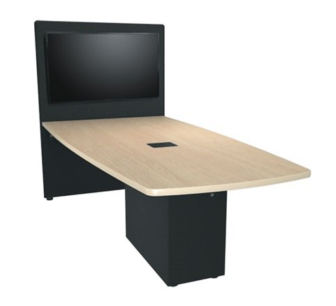 6' x 4' HUB Table System with Angle Shaped Top, HPL