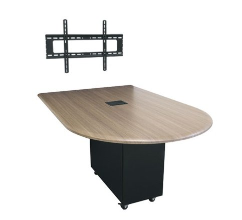 6' x 4' HUB Table System with Bullet Shaped Top, HPL