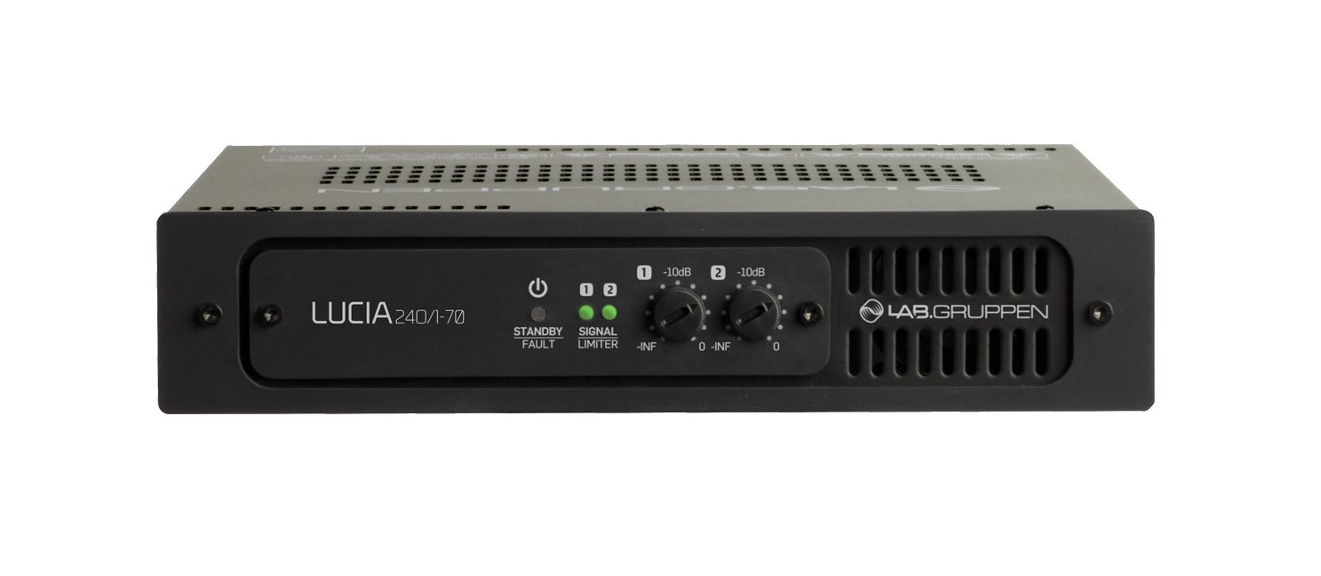 120W Lab Gruppen Commercial Amp