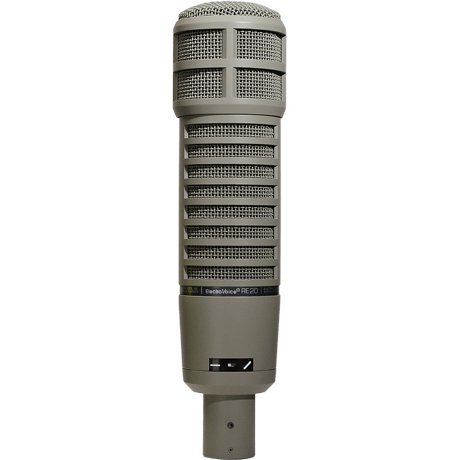 Broadcast Announcer Microphone w/ Variable-D