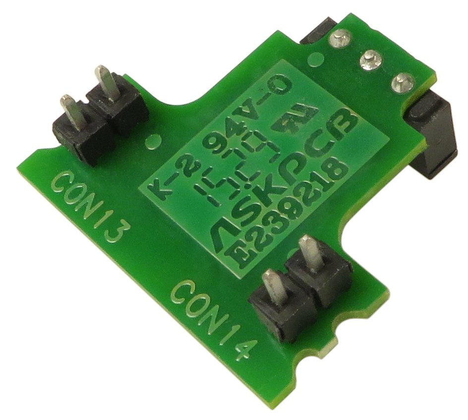 Shure Transmitter On/Off Switch PCB