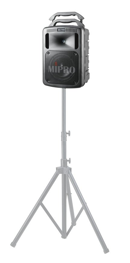 Powered Portable Wireless PA System With Bluetooth