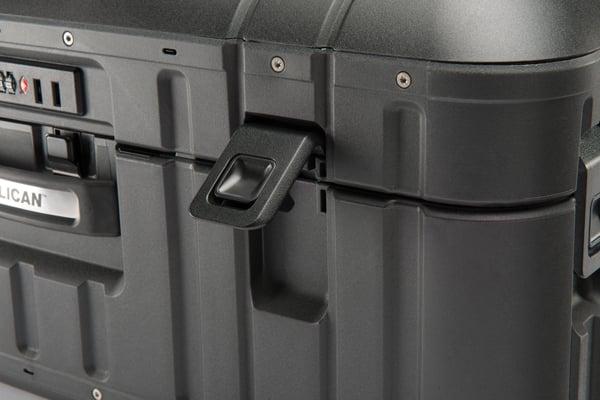 "22"" Elite Carry-On Luggage Case, Purple"