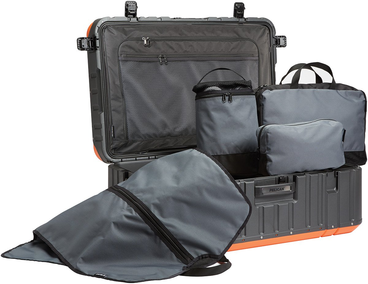 Vacationer Elite Carry-On Luggage Case with Enhanced Travel System