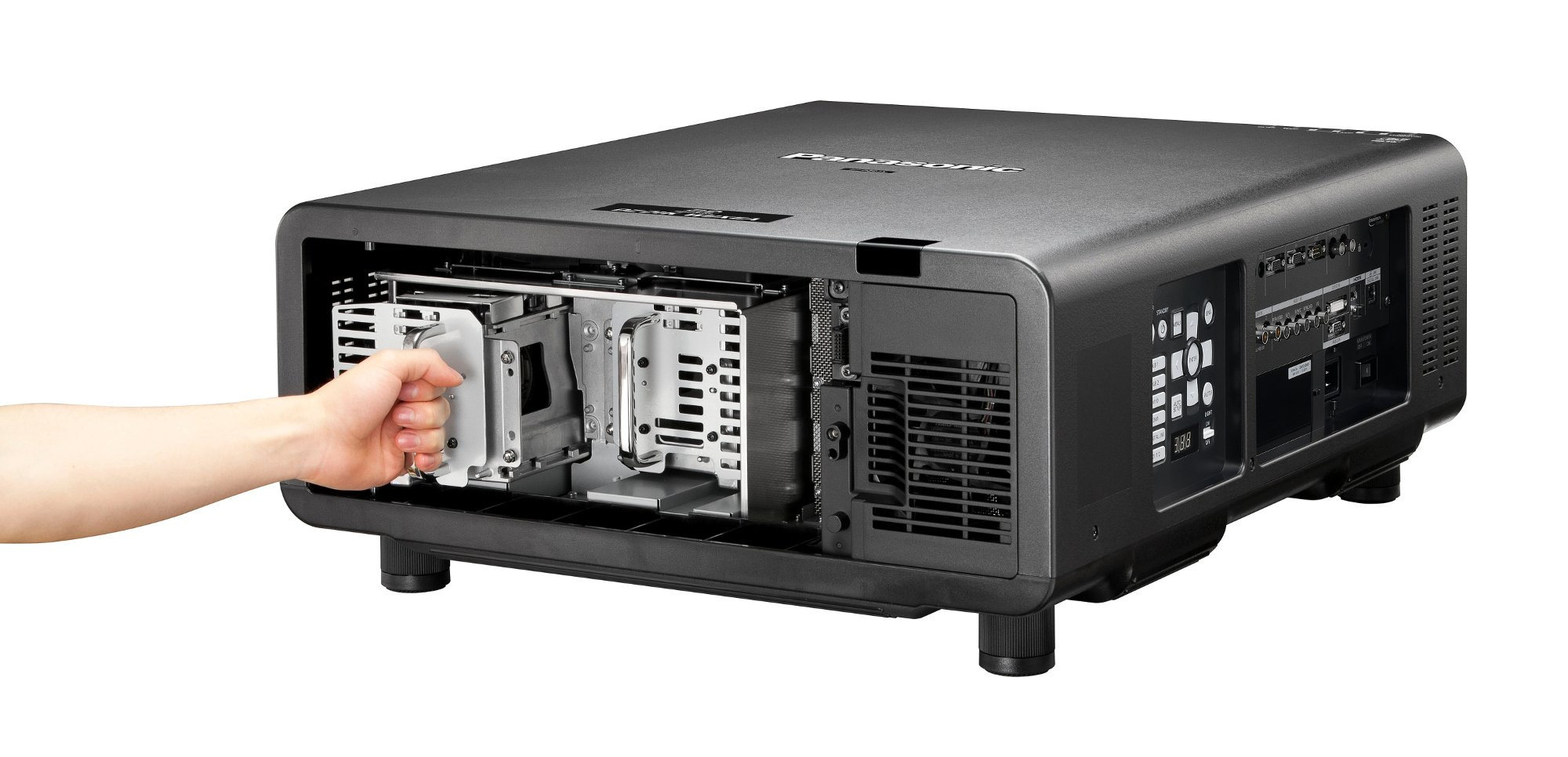 20,000 Lumen WUXGA 3-Chip DLP Large-Venue Projector, No Lens
