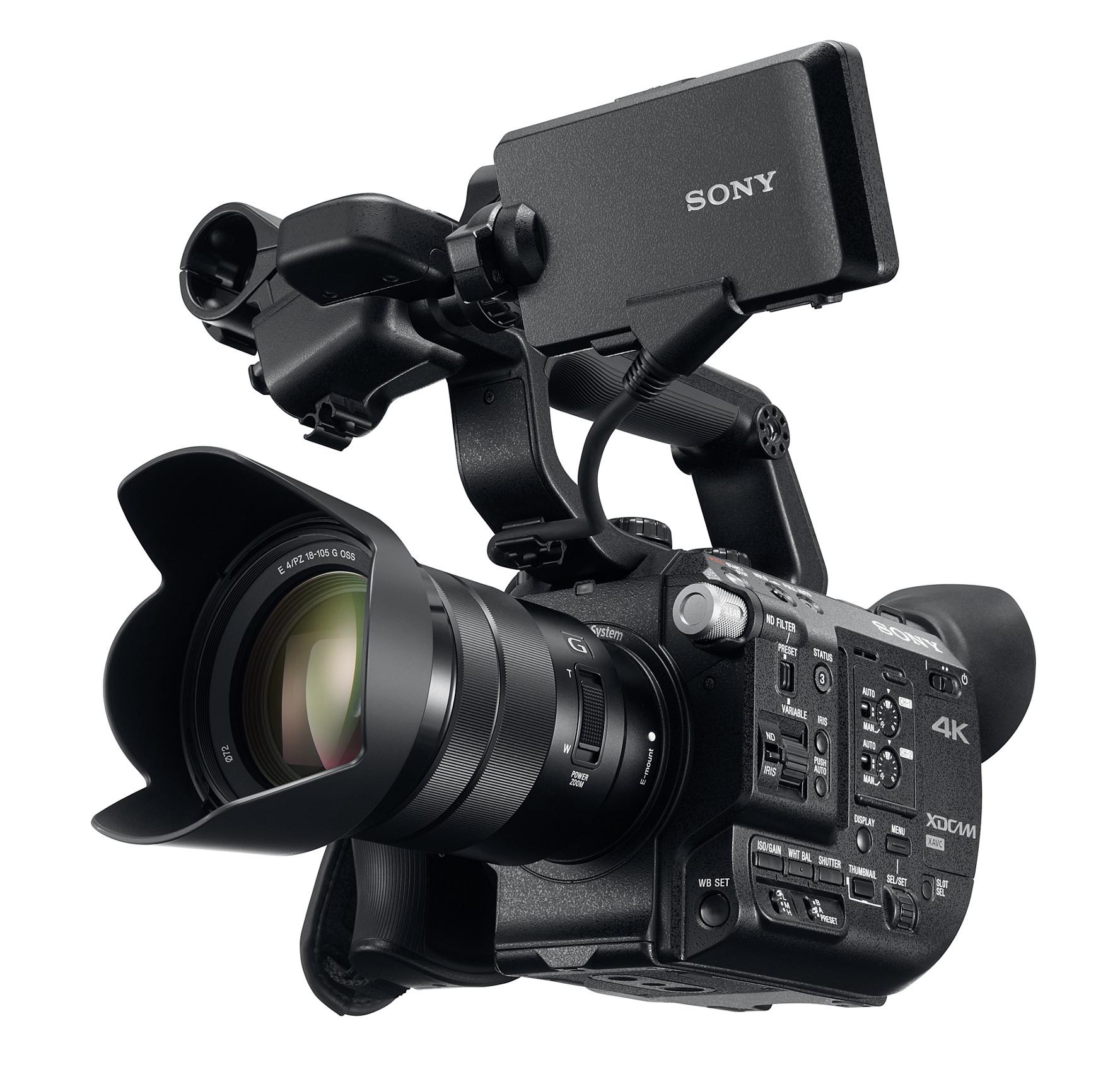 Sony PXW-FS5K 4K XDCAM Super 35mm Camera with Lens PXW-FS5K