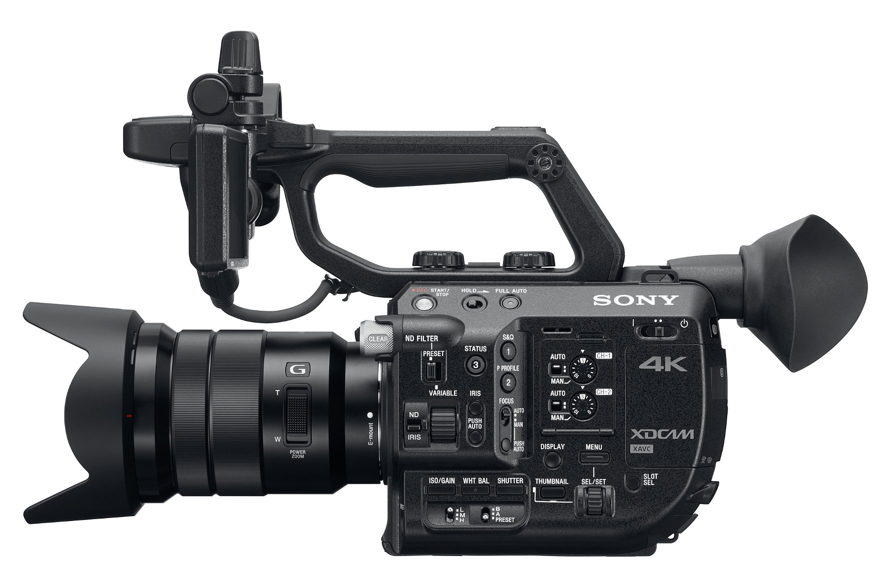 Sony PXW FS5K 4K XDCAM Super 35mm Camera with Lens | Full Compass