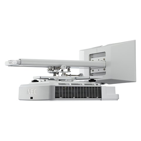 3200 Lumen Widescreen Ultra-Short Throw Projector with Wall Mount