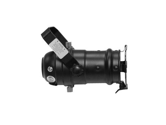 PAR 16 Black Aluminum Light Fixture