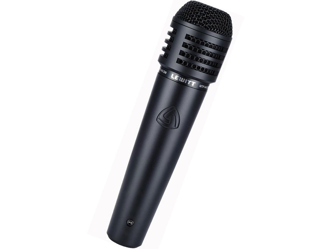 Lewitt MTP440DM Dynamic Performance Microphone, Cardioid MTP440DM