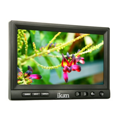 """8"""" High Definition LCD Production Monitor with HDMI Input"""