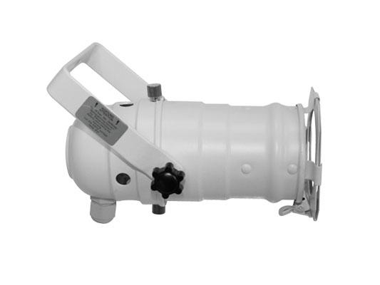 White Aluminum Par 20 Light Fixture