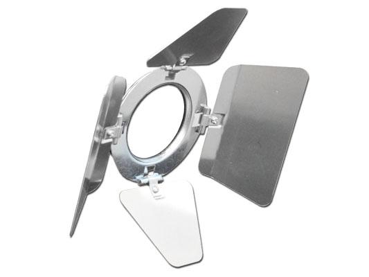 High Polish Aluminum Barndoor for LSPAR20 Light Fixtures
