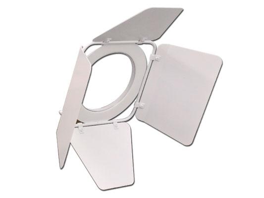 White Barndoor for LSPAR20 Light Fixtures