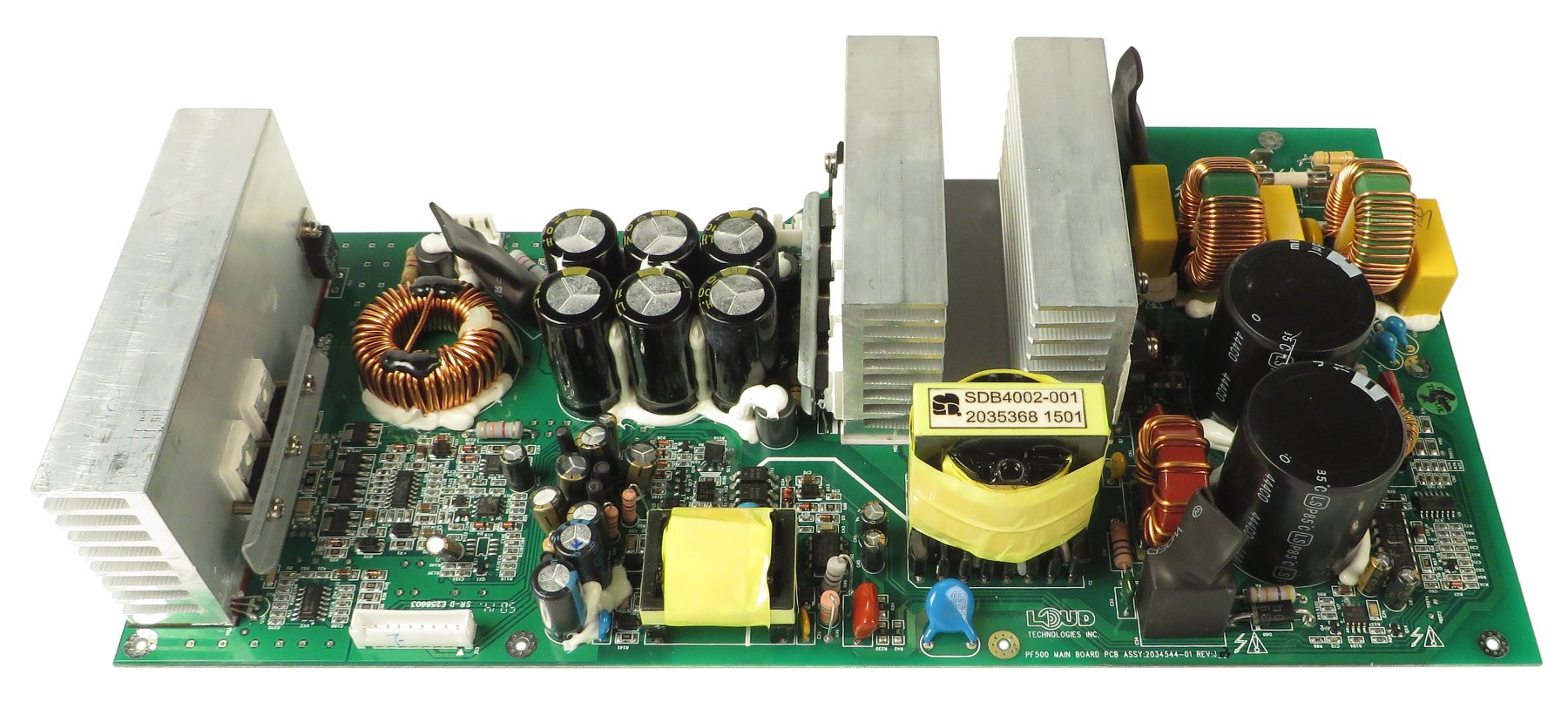 ampeg 2034544 01 main pcb for pf 500 full compass systems. Black Bedroom Furniture Sets. Home Design Ideas