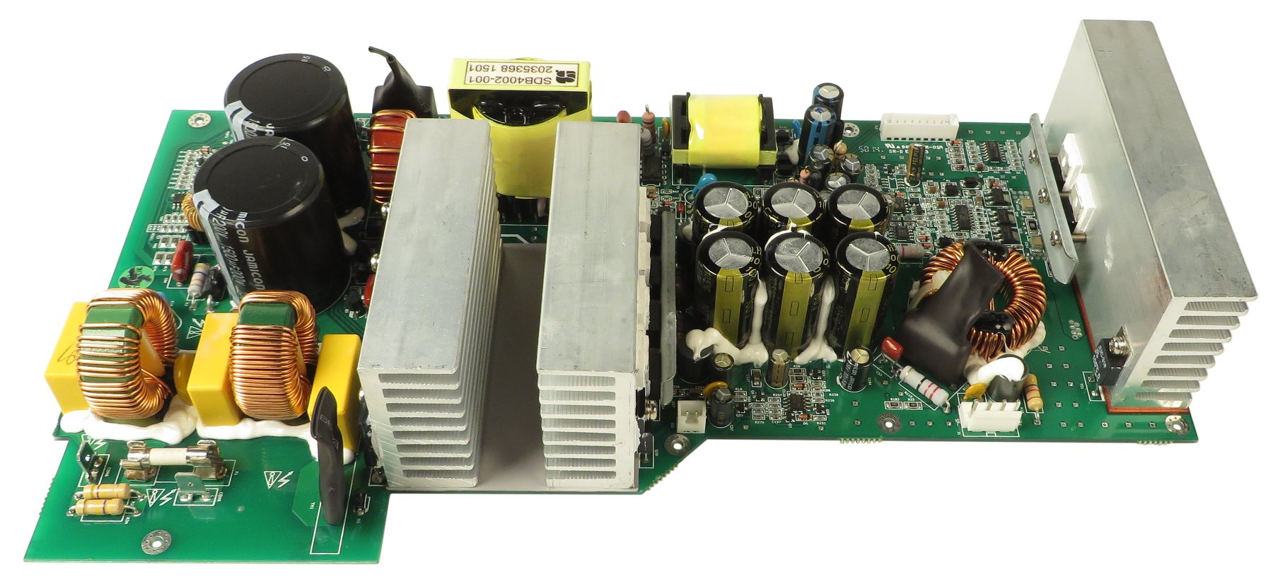 Main Pcb For Pf 500 By Ampeg 2034544 01 Full Compass Systems Repair And Diagnostic Of Electronic Circuit Board Stock Photo