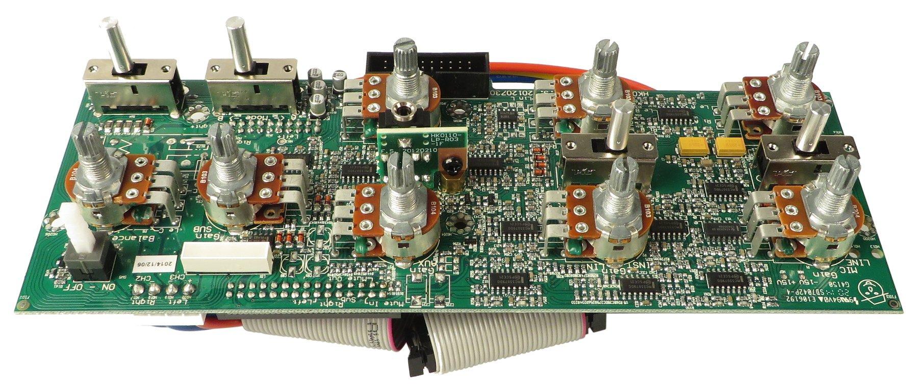 Preamp PCB for Lucas Nano 300