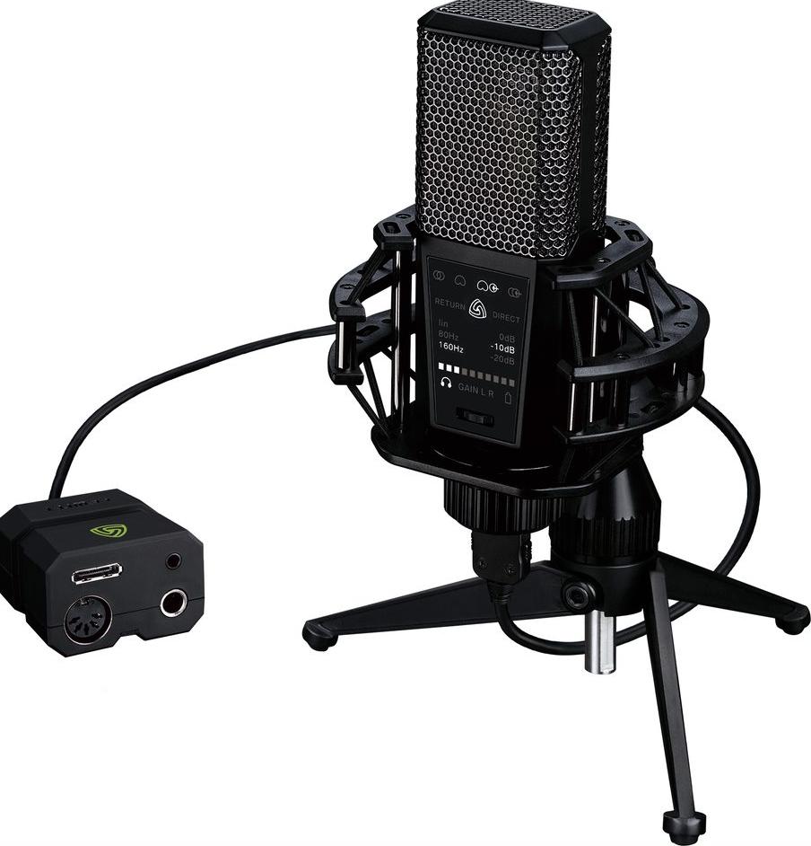 Stereo / Cardioid USB Microphone for iOS, PC, Mac