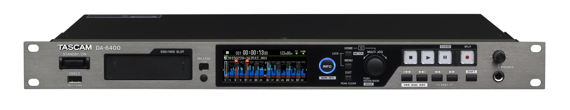 64 Track Audio Recorder