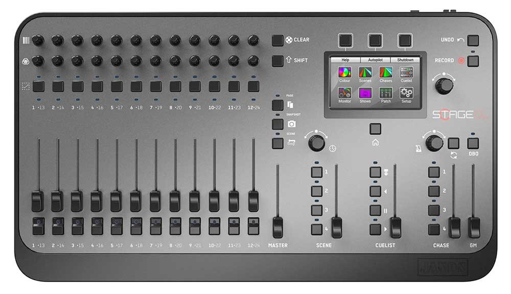 Compact LED Lighting Console