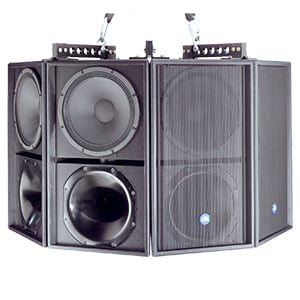 Renkus-Heinz T12/6-4(T) TRX121 Loudspeaker Cluster T12/6-4(T)