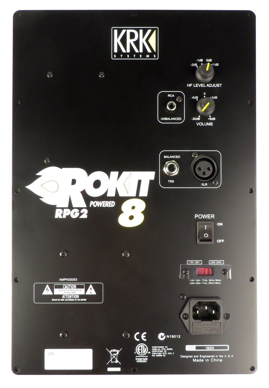 Amp Assembly for RP8G2