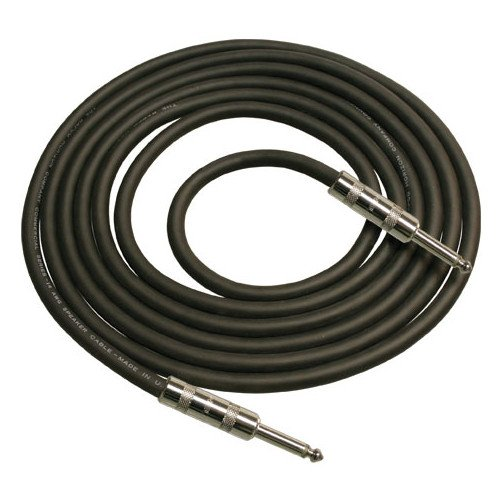 12 AWG H Speaker Cable in Black, 2 ft, 2 Neutrik NL4