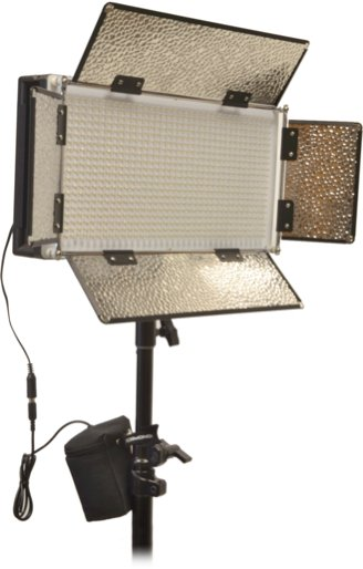 1000W Combined LED Panel Studio Kit with Digital Color Temp Display