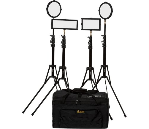 4 Piece Lighting Travel Kit